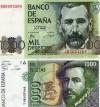 dos billetes 1000 pts españa