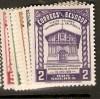 Ecuador 1939 SC 382-7 MOG (ym1)