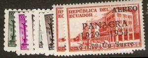 Ecuador 1954 A/M SC C256-62 MOG (ym1)