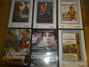 Lote de 6 películas en DVD - Clásicos y cine español