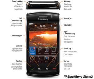 BLACKBERRY STORM 2 Nueva + Accesorios + GPS integrado