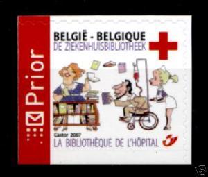 ESP::Rotes Kreuz. Krankenhausbibliothek.1W.Belgien 2007