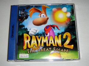 ESP::Rayman 2 - The great escape - Dreamcast
