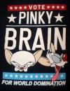 PINKY & The BRAIN Cartoon T-Shirt VTG Animaniacs Mens M