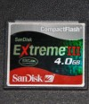 tarjeta karte card cf 4gb extreme3