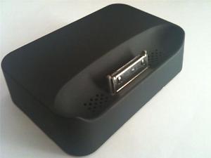 BASE DOCK IPHONE 3G 3Gs CARGA Y DATOS Y SALIDA MUSICA