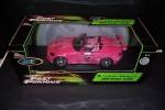 Ertl Fast & Furious 1/18 Sukis Pink Honda S2000 Rare