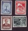 Ecuador (4) 1946, Complete Series
