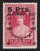 EDIFIL  386** JURA CONST. ALFONSO XIII- ( 20 €) LUJO
