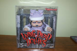 LIVING DEAD DOLLS EGGZORCIST DOLL, BOXED!