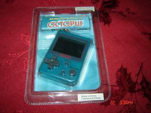 OCTOPUS GAME & WATCH MINI CLASSICS NINTENDO IN BOX