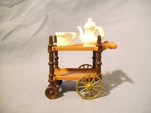 playmobil Rare victorian tea trolly