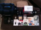 Cannon XSI 12.2 MP KIT, IS lENS, 420 EX,  2 GB card,etc