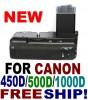 BATTERY GRIP FOR CANON 450D 1000D 500D BG-E5 XS XSi T1i