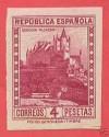 SPAIN 674 s ** ALCÁZAR DE SEGOVIA SF  AÑO 1932