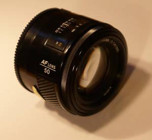 Sony Konica Minolta Normal AF 50mm f/1.4 Lens