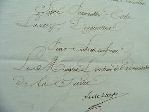 DOCUMENT EMPIRE HOPITAUX LARREY DESGENETTE ESPAGNE 1812