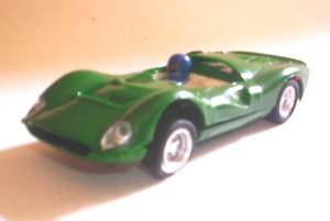 SCALEXTRIC EXINMEX - FERRARI GT 330 #1- MEXICO 1970'S