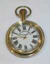 ' Anglo Swiss Watch Co '  brass cased pocket watch