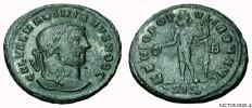 Galerius AE Follis Authentic Ancient Roman Coin