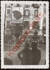 Spanienkrieg 1937 Zaragoza Plaza de Espania Franco Plak