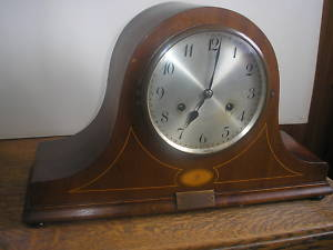 LARGE ANTIQUE CLOCK WURTTEMBERG UNGHANS CHIMING GERMAN