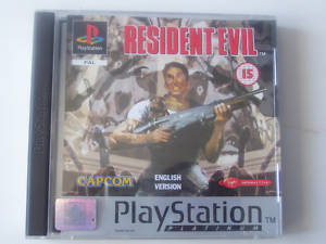 RESIDENT EVIL 1. PS1 & PS2  PLATINUM EDTION GAME