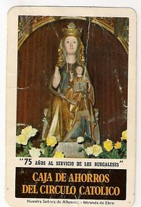 CALENDARIO H.FOURNIER, AÑO 1984 : NUESTRA SEÑORA DE ...