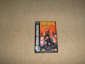 Duke Nukem Sega Saturn