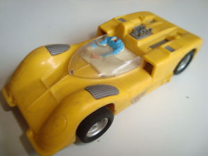 SCALEXTRIC MEXICAN CHAPARRAL GT YELLOW  EXIN MEX MEXICO
