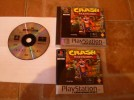 SONY PS1 CRASH BANDICOOT GAME COMPLETE BOXED