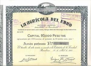 La Agricola del Ebro