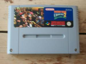 Donkey Kong Country 2 Snes Super Nes game cart only