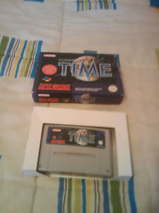 Illusion of time SNES PAL