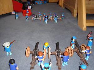 Playmobil Bürgerkriegsset