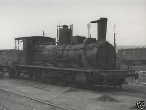 RENFE Spanish Rail Steam 040 2222 Miranda del Ebro 1963