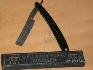 NAVAJA DE AFEITAR (STRAIGHT RAZOR) GUILLERMO HOPPE