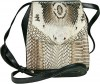 Ladies Cobra Head Leather Shoulder Bag     So Awesome