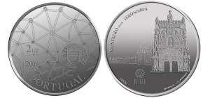 2,5 Euro MONASTERIO DE LOS JERONIMOS Portugal  2009 S/C