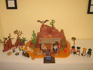 Playmobil Goldmine,Cowboys, Zubehör, Western,