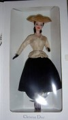 1998 CHRISTIAN DIOR PARIS  BARBIE DOLL MIB BLONDE