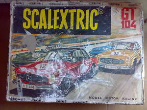 CIRCUITO SCALEXTRIC GT-104 EXIN