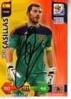 CASILLAS, Iker # Spanien # sign Card# Adrenalyn WM 2010