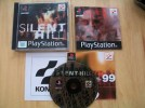 silent hill ps1 game rare complete