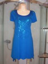EVANS - LADIES EVENING TOP MINI DRESS SIZE 18 USED