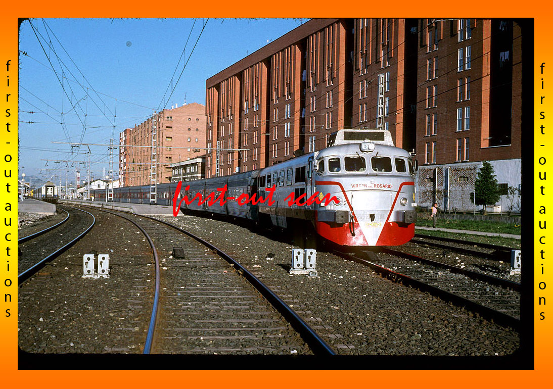 Original Slides - RENFE Spain 352 001 Action Miranda 97