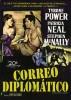 CORREO DIPLOMÁTICO - TYRONE POWER - Clásico en DVD