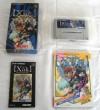 Juego de Super Nintendo (SNES/SFC) XAK + guía oficial