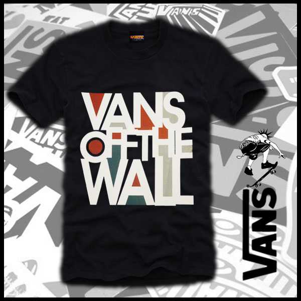 Vans Skateboard Urban Punk Off The Wall Es Dc T Shirt L