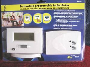 Termostato programable wireless thermostat inalambrico 3 - Termostato inalambrico precios ...